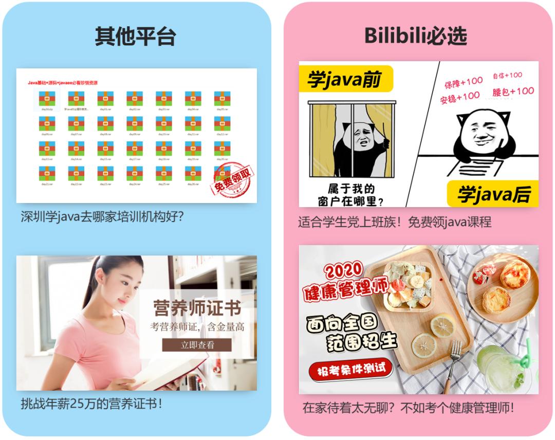 肝完5000条广告,我总结了B站信息流广告的出圈套路