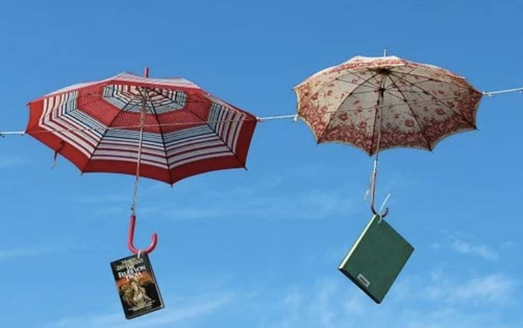天堂伞,要做格子裙了!