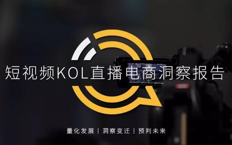 直播电商|2020短视频KOL直播电商洞察报告