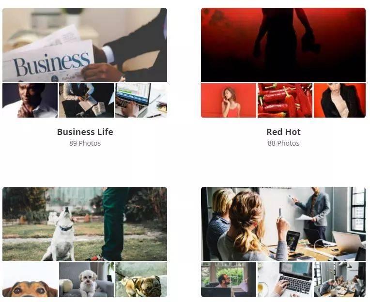 实用贴! 21 个让我上瘾的图片素材网站!